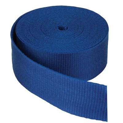 1-1/2 in. Webbing Strap, Blue