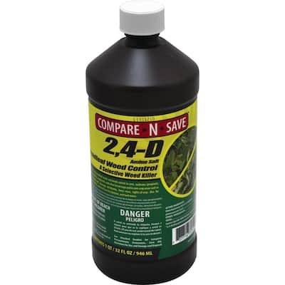 32 oz. 2, 4 D Broadleaf Weed Control