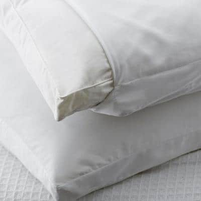 300-Thread Count Cotton Sateen Gusset Pillow Protector