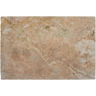Porcini 2 in. x 16 in. x 24 in. Brushed Travertine Pool Coping (40 Pieces/106.8 sq. ft./Pallet)
