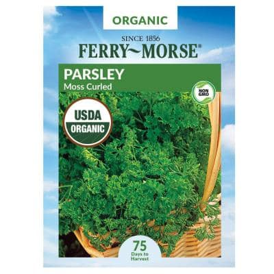 Parsley Moss Curled Organic Seed