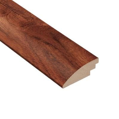 Teak Amber Acacia 3/8 in. Thick x 2 in. Wide x 78 in. Length Hard Surface Reducer Molding