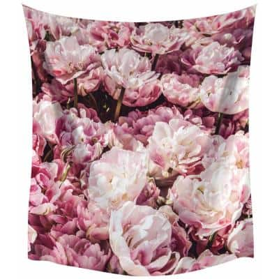 Peony Large Wall Tapestry
