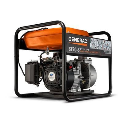 5.7 HP 2 in. Gas Powered Semi Trash Pump