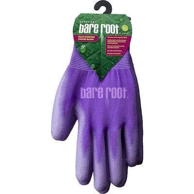 Ladies Premium Polyurethane Coated Glove - PURPLE (1 Size Fits Most)