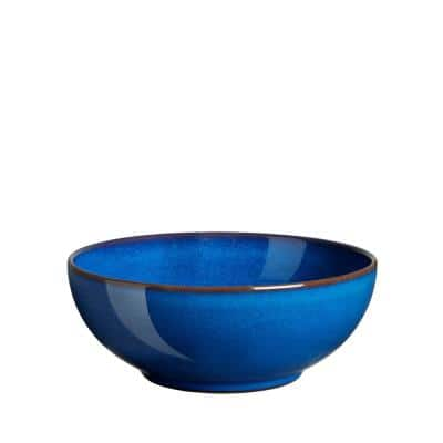 Imperial Blue Stoneware 27.72 oz. Cereal Bowl