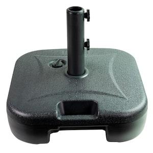 Patio Premeir 5 lbs. Plastic Patio Umbrella Base in Black