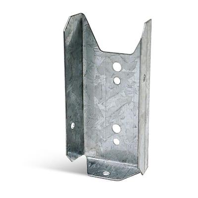 FB ZMAX Galvanized Fence Rail Bracket for 2x4 Nominal Lumber