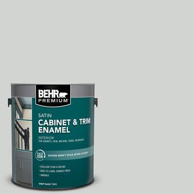 1 gal. #PPU26-11 Platinum Satin Enamel Interior Cabinet and Trim Paint