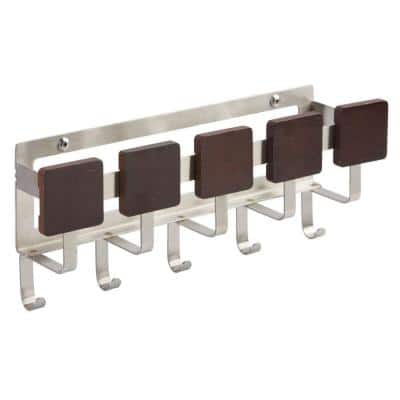 Formbu Wall Mount Key and Mail Rack in Espresso