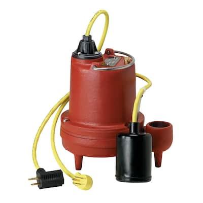 HT-40-Series 4/10 HP Submersible High Temperature Sump Pump