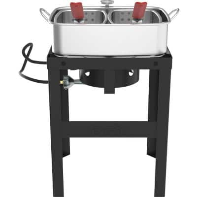 18 Qt. Fish Fryer with Double Basket