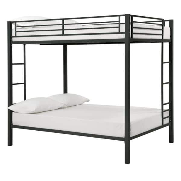Dhp Corey Full Over Full Metal Bunk Bed De97403 The Home Depot