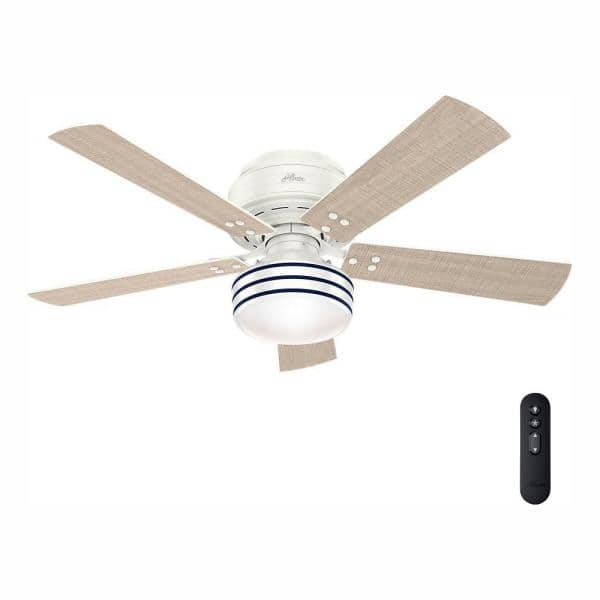 Shop Fresh White Low Profile Ceiling Fan from Home Depot on Openhaus