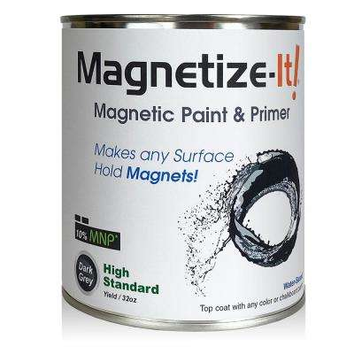 Magnetize-It! Magnetic Paint & Primer - High Standard Yield 32oz