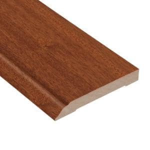 Matte Chamois Mahogany 1/2 in. Thick x 3-1/2 in. Wide x 94 in. Length Wall Base Molding