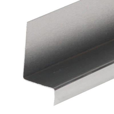 1-1/4 in. x 1-3/4 in. x 2 ft. 6 in. Mill Aluminum Window Cap