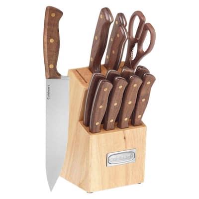 Triple Rivet 14-Piece Stainless Steel Knife Set