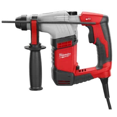 5.5 Amp 5/8 in. Corded SDS-plus Concrete/Masonry Rotary Hammer Drill Kit with Case