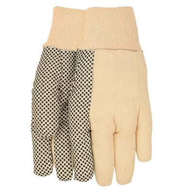 Men's Dot Palm Gloves - 12 Pack