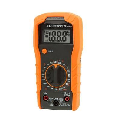 Manual Ranging Digital Multimeter