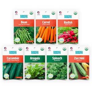 Organic Summer Seeds Variety (7-Pack)