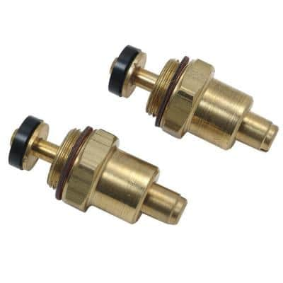 Screwdriver Check Stops for Mixet Faucets Pressure Balanced Valves