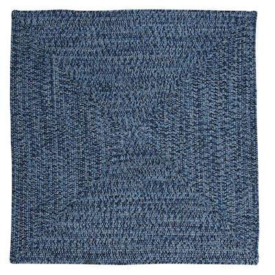 Marilyn Tweed Ocean Wave 4 ft. x 4 ft. Square Braided Rug