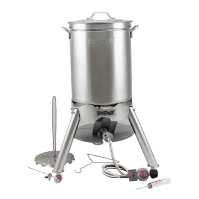 44 qt. Stainless Steel Turkey Fryer Kit
