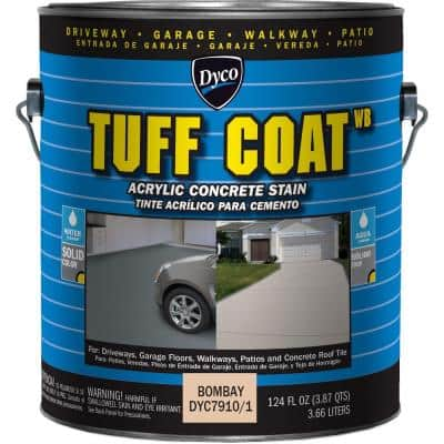 Tuff Coat 1 gal. 7910 Bombay Low Sheen Exterior Waterborne Acrylic Concrete Stain