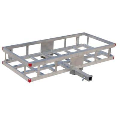 500 lb. Capacity 48 in. x 22 in. Aluminum Hitch Cargo Carrier for 2 in. Receiver