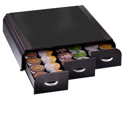 Anchor 36-Capacity Black K-Cup Storage Drawer