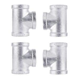 1 in. Galvanized Iron Tee (4-Pack)