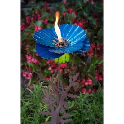 36 in. H Himalayan Garden Torch Poppy