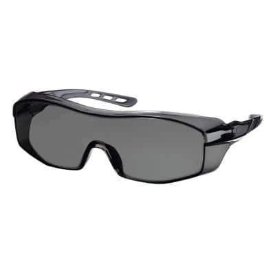 Tinted Frame with Tinted Scratch Resistant Lenses Eyeglass Protector (Case of 6)