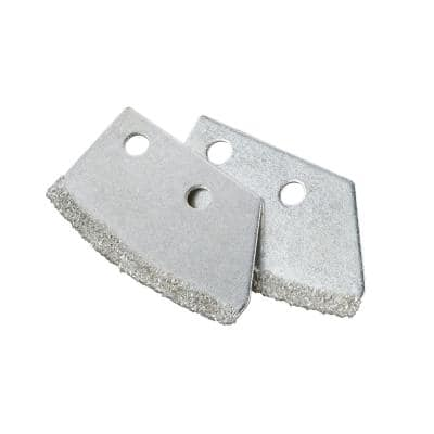 Utility Grout Saw Blades (2-Pack)