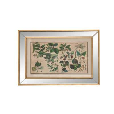 Modern 19 x 28 in. Leaf-Inspired Wall Plaque
