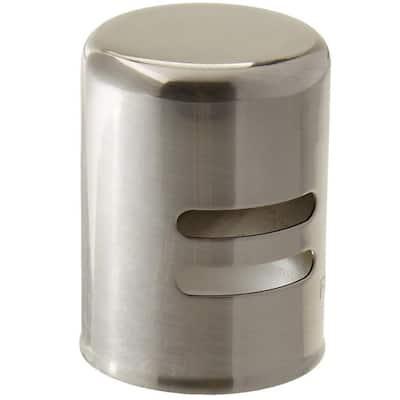 Standard Brass Air Gap Cap Only, Stainless Steel