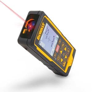 660 ft. Laser Distance Measurer with Color LCD, 4X Zoom Digital Camera and Bluetooth