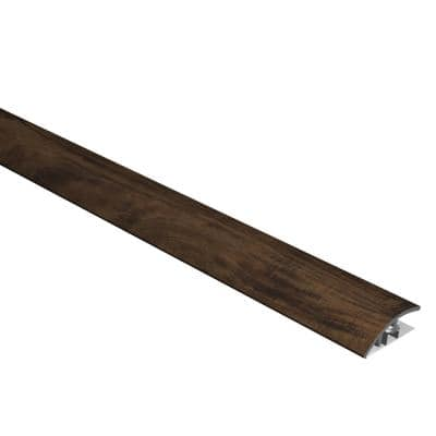 Vinyl Pro Classic Walnut Creek 1/2 in. Thick x 1-3/8 in. Wide x 72-5/6 in. Length Vinyl Reducer