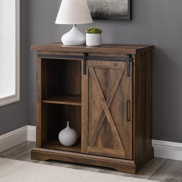 Walker Edison Furniture Company 32 In, Oak Barn Furniture