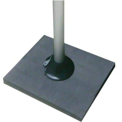 Pedestal Floor Base for Grill Pedestal Mount