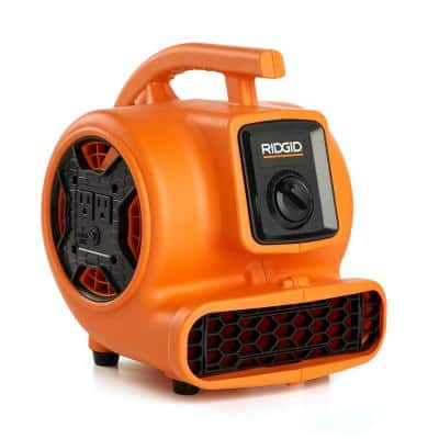 600 CFM Portable Blower Fan Air Mover with Daisy Chain