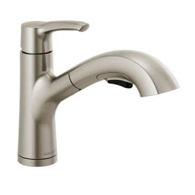 Parkwood Single-Handle Pull-Out Sprayer Kitchen Faucet in Stainless