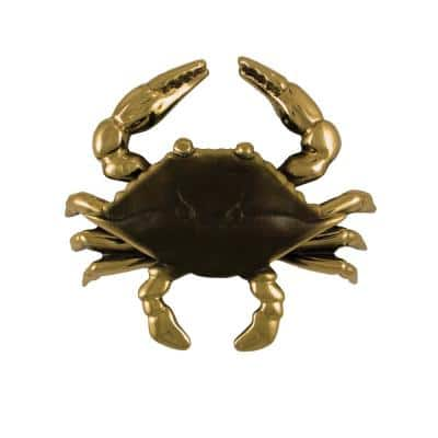 Brass Crab Door Knocker