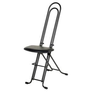 18 in. to 33 in H Ergonomic Work Seat/Chair