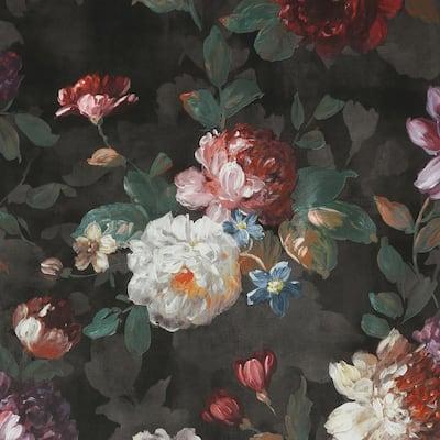 Isabelle Black Wallpaper Sample