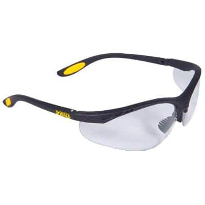 Safety Glasses Reinforcer with Clear Lens