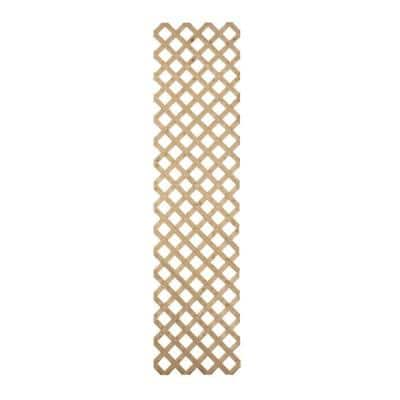 2 ft. x 8 ft. Southern Yellow Pine Pressure Treated Garden Wood Lattice