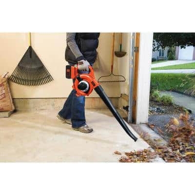 120 MPH 90 CFM 40V MAX Lithium-Ion Cordless Handheld Leaf Sweeper/Vacuum with (1) 1.5Ah Battery and Charger Included